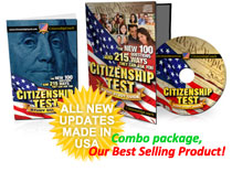 This CD costs $10 more than average, but it is one of the best to help you pass your citizenship interview.